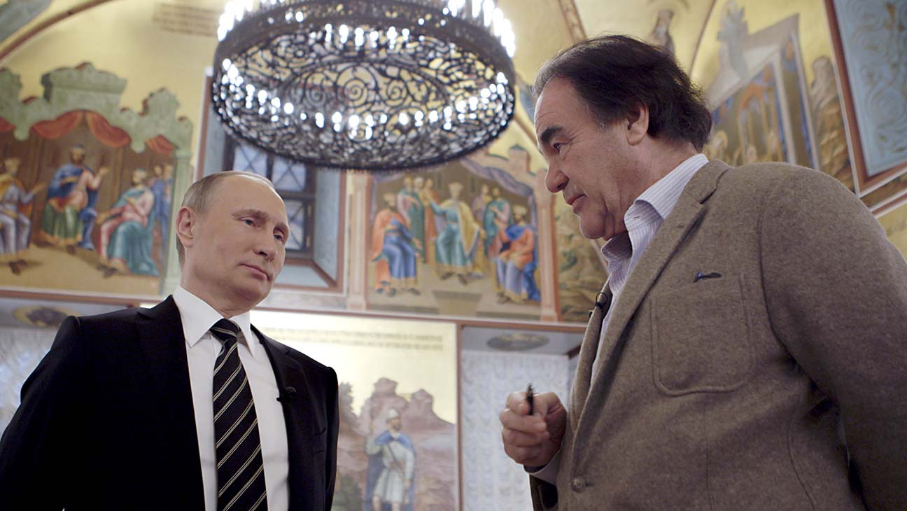 Oliver Stone Insists Putin Did Not Interfere in the 2016 U.S. Presidential Election