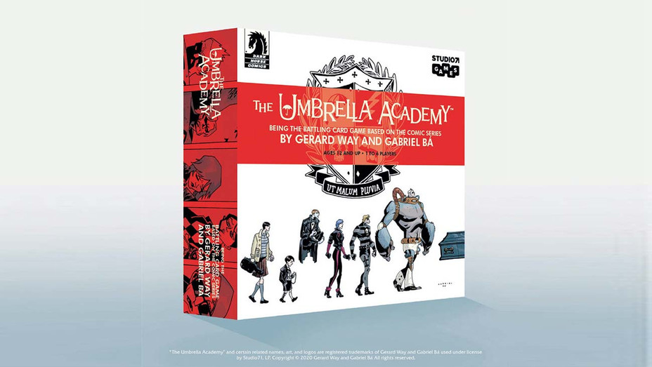 Umbrella Academy Card Game-Publicity-H 2020