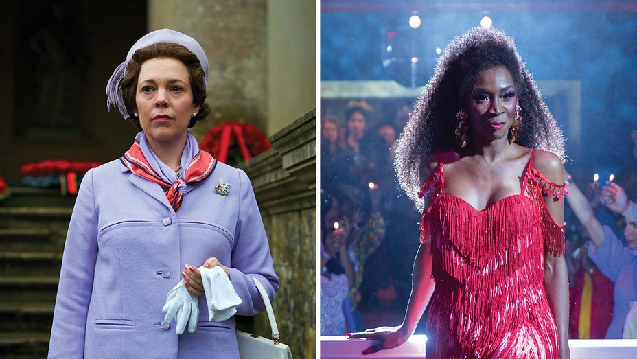 Writers Break Down Key Scenes Right on the Scripts of 'The Crown,' 'Pose' and More-The Crown - Pose - Publicity stills - Split - h 2020