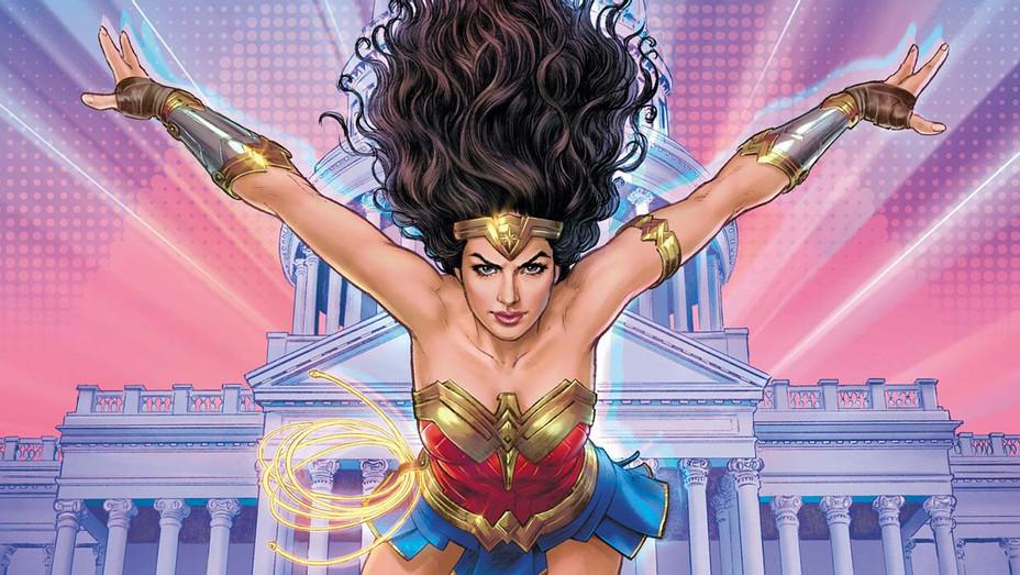Wonder Woman 1984 Comic Cover - Nicola Scott -DC - H 2020