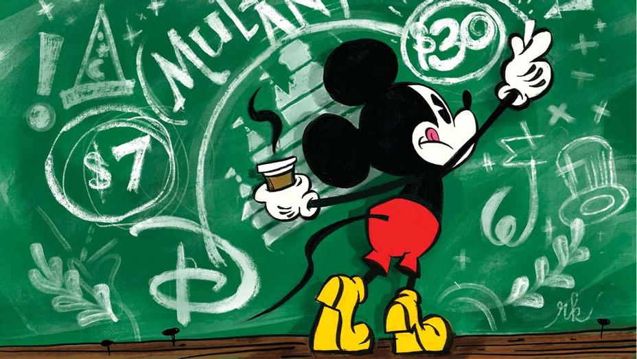 ONE TIME USE ONLY - Disney+ Bet on Mulan-Illustration by Ronald Kurniawan-H 2020