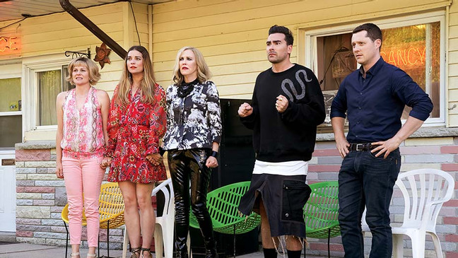 Emmys: 'Schitt's Creek' Sets Record for Most Wins in a Single Season for a Comedy