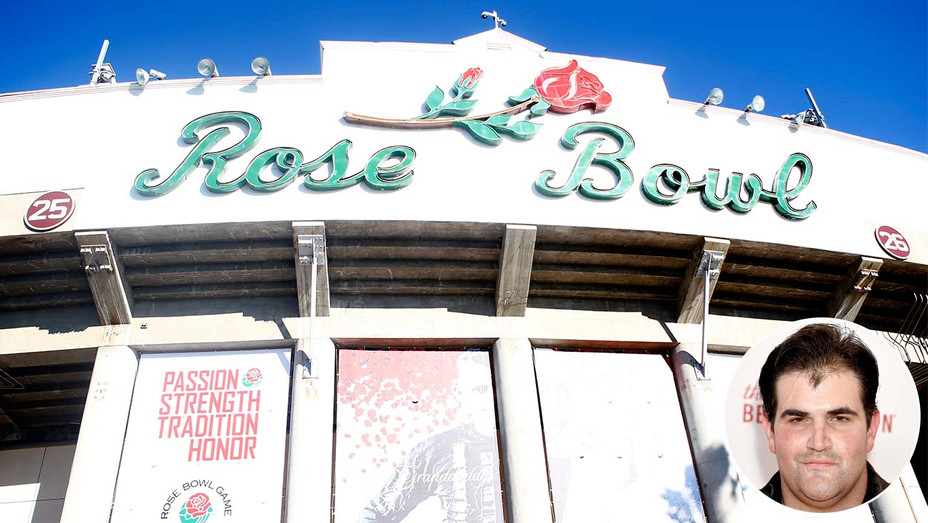 A general view of the exterior of the Rose Bowl-Jason Davis-Getty-Inset-H 2020