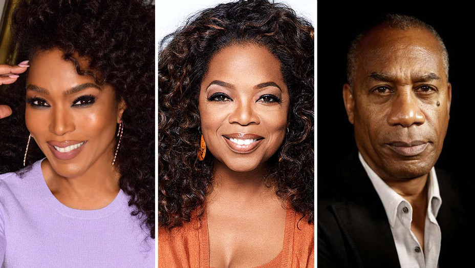 Angela Bassett, Oprah and Joe Morton - Split -HBO Publicity-H 2020