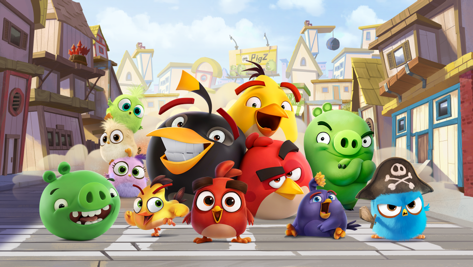 Angry Birds - Publicity