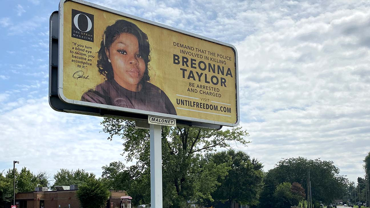 Oprah Winfrey Demands Justice For Breonna Taylor With 26 Louisville Billboards Hollywood Reporter