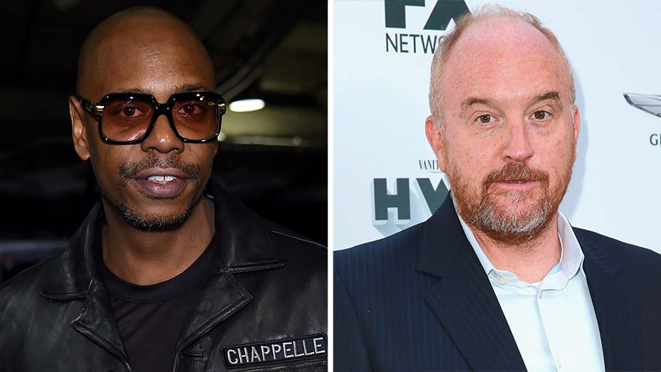 Dave Chappelle - Louis CK-Split-Getty-H 2020