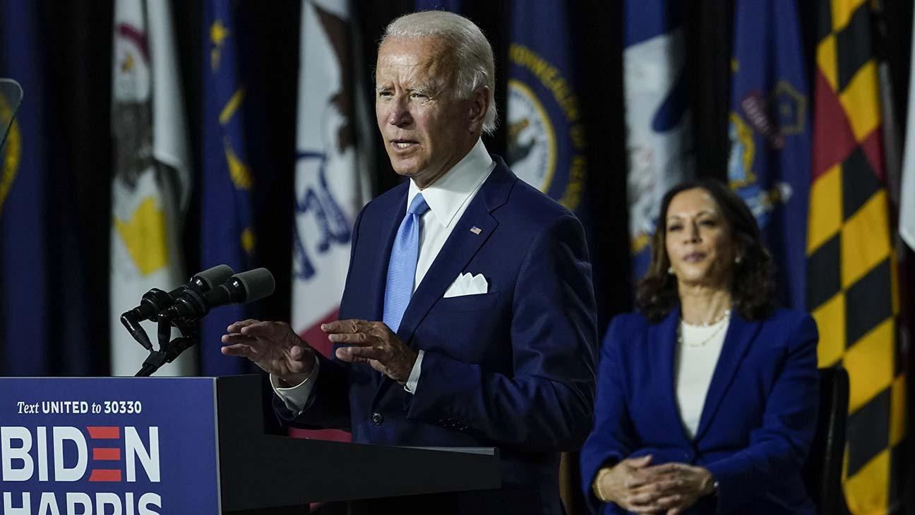 Joe Biden and Kamala Harris Make First Public Appearance as Running Mates