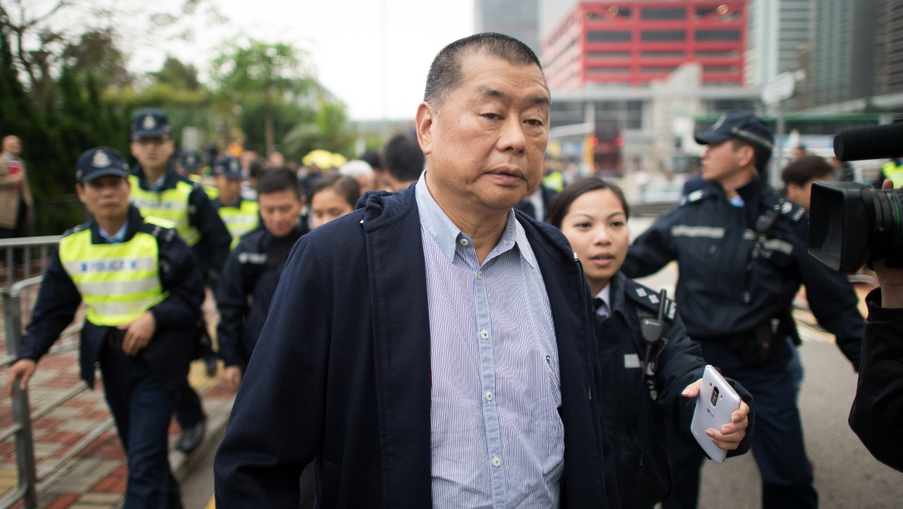 Hong Kong Media Mogul Arrested Over Alleged Foreign Collusion