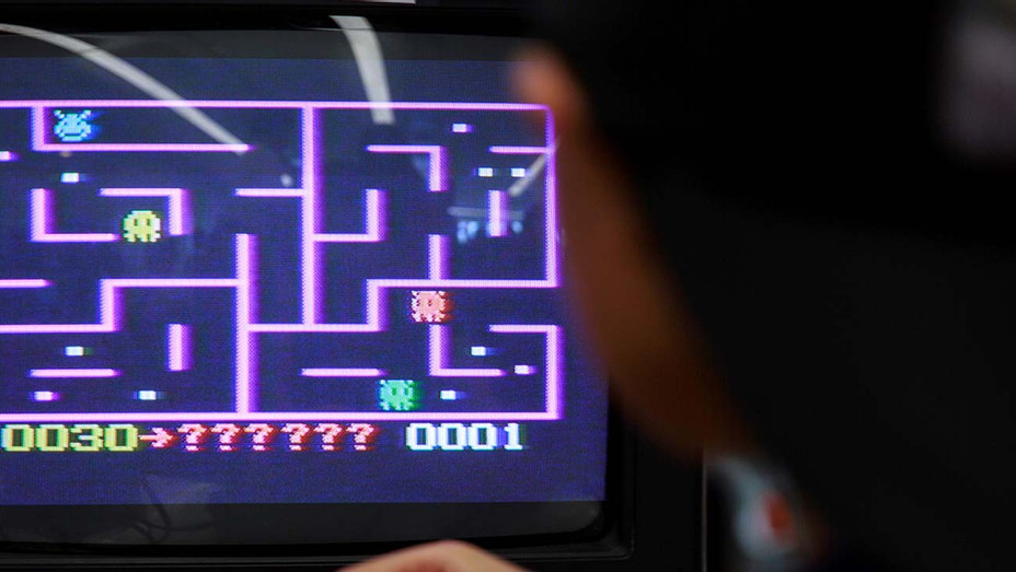 Philips Videopac G7000 video game console - maze game Munchkin on a late 1970s-era - Getty -H 2020