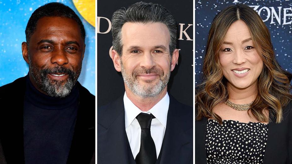 Idris Elba, Simon Kinberg, Audrey Chon