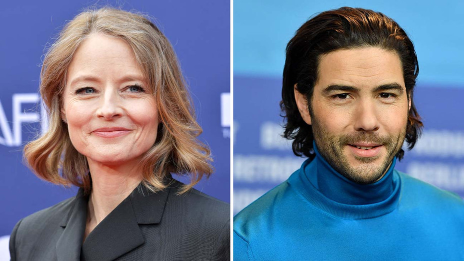 Jodie Foster and Tahar Rahim-Getty- Split - H 2020