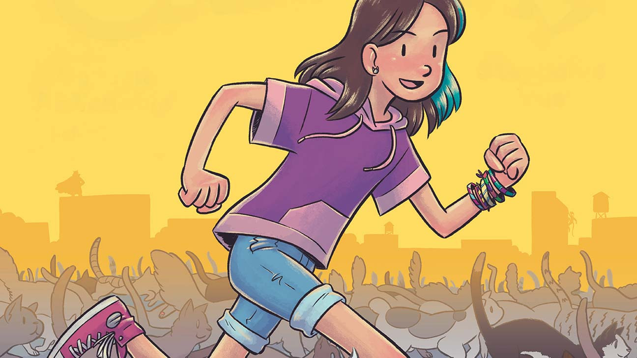 How 'Katie the Catsitter' Puts Feline Twist on Superhero Genre
