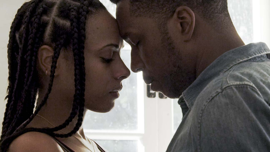 LOVE IN THE TIME OF CORONA -  Still 1 - NICOLETTE ROBINSON, LESLIE ODOM JR. - Publicity-H 2020