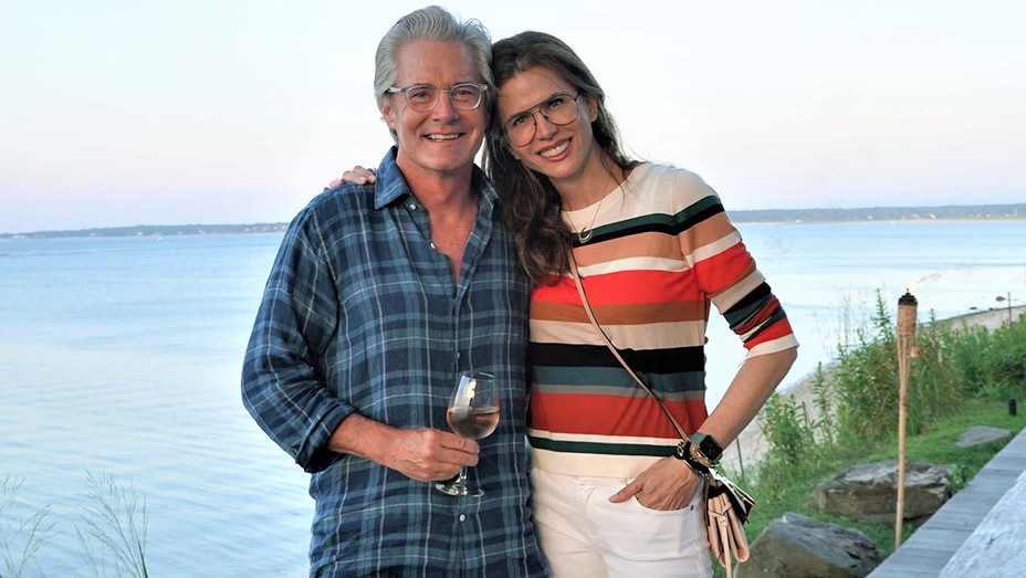 Kyle MacLachlan and wife Desiree Gruber - Courtesy of Cinema Society - H 2020
