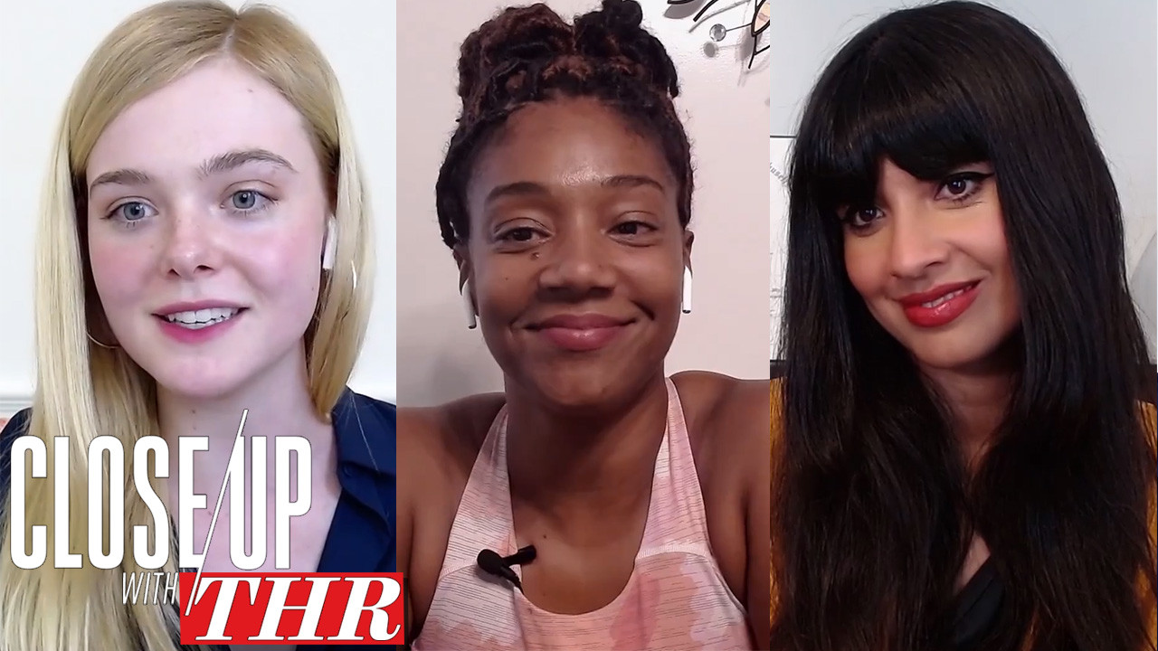 The Hollywood Reporter's Full, Uncensored Comedy Actress Roundtable With Elle Fanning, Tiffany Haddish, Jameela Jamil, Jane Levy, Amy Sedaris and Robin Thede
