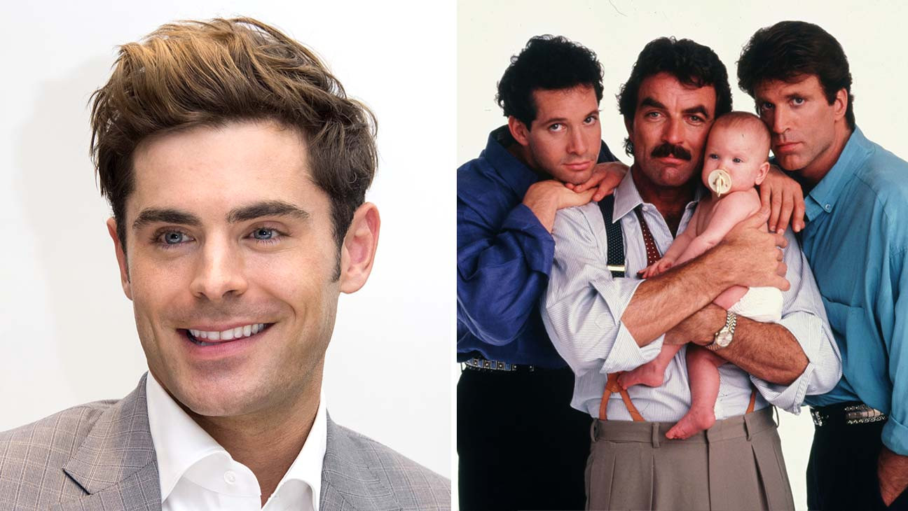 Zac Efron to Star in 'Three Men and a Baby' Remake for Disney+ (Exclusive)