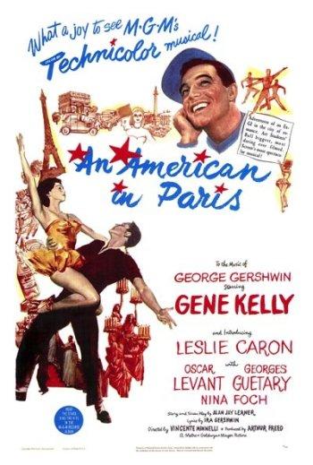 An American in Paris / Gigi One Sheet - P 2012