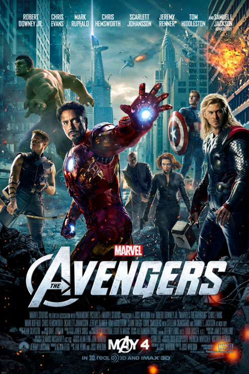 Marvel's The Avengers: An IMAX 3D Experience One Sheet - P 2012