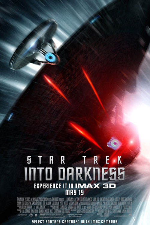 Star Trek Into Darkness: An IMAX 3D Experience One Sheet - P 2013