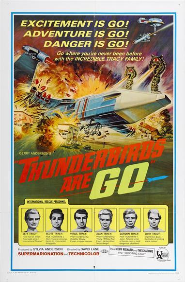 Thunderbirds Are Go / Thunderbird Six One Sheet - P 2012