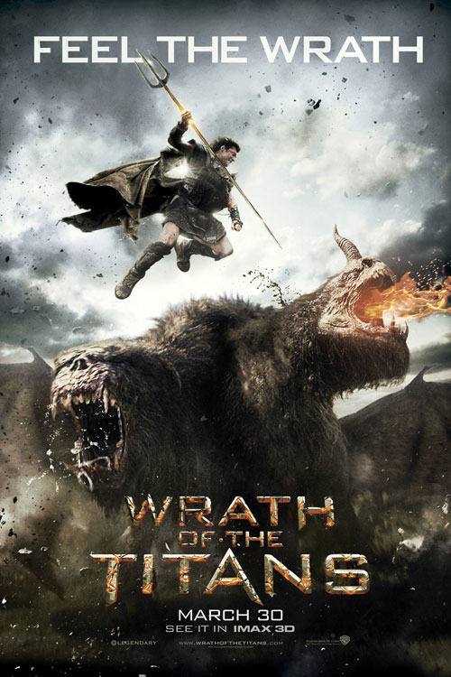 Wrath of the Titans: An IMAX 3D Experience One Sheet - P 2012