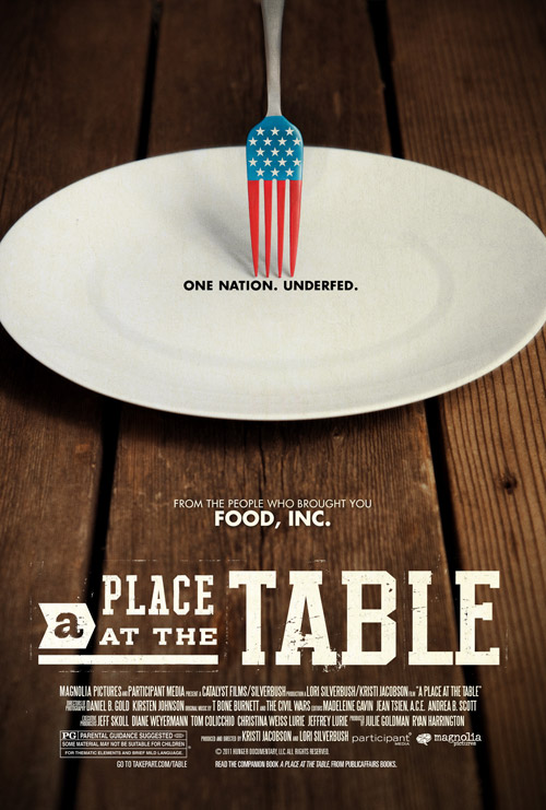 A Place at the Table One Sheet - P 2013