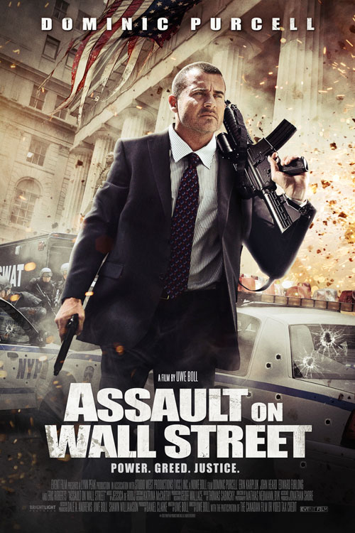 Assault on Wall Street One Sheet - P 2013