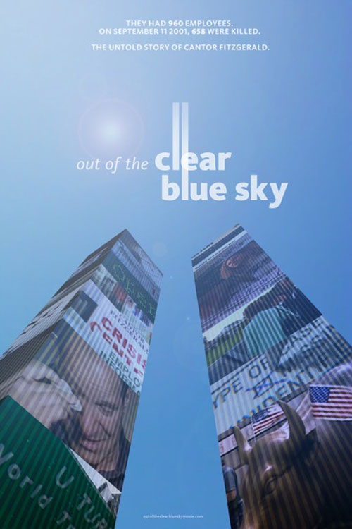 Out of the Clear Blue Sky One Sheet - P 2012