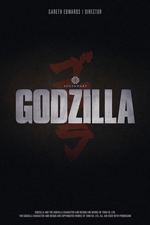 Godzilla (2014) One Sheet - P 2014