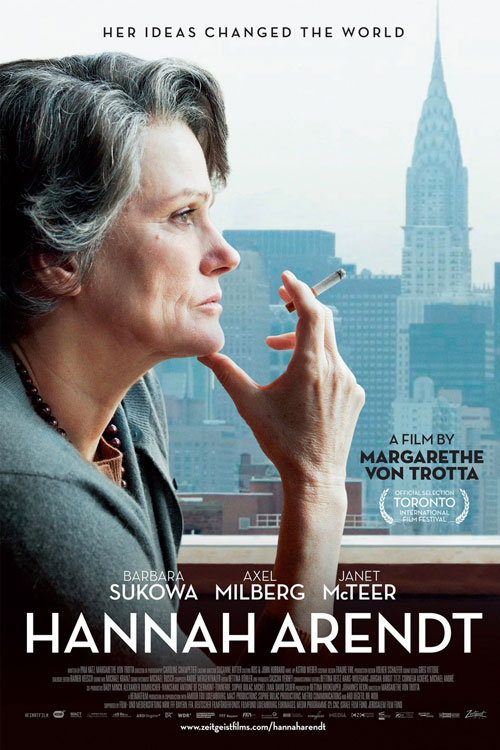 Hannah Arendt One Sheet - P 2013