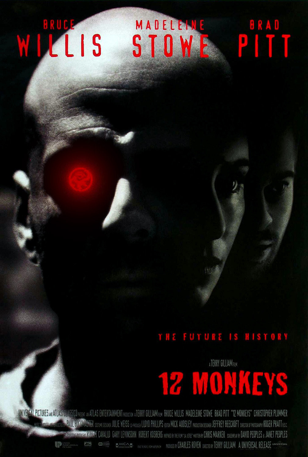 Twelve Monkeys One Sheet - P 1995