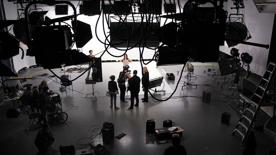 A production studio at the Australian Film, Television and Radio School.
