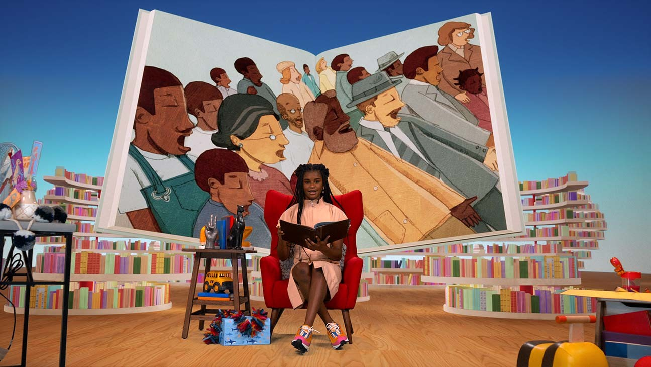 "Netflix's 'Bookmarks' Aims to Amplify Black Voices ""Through the Joy of Reading"""