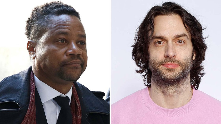 Cuba Gooding Jr. (left) and Chris D'Elia appear in 'Life in a Year.'