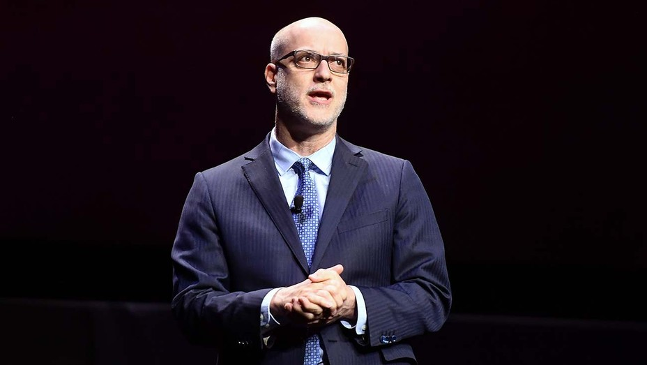 John Fithian speaks onstage at CinemaCon 2019 - Getty 2 -H 2020