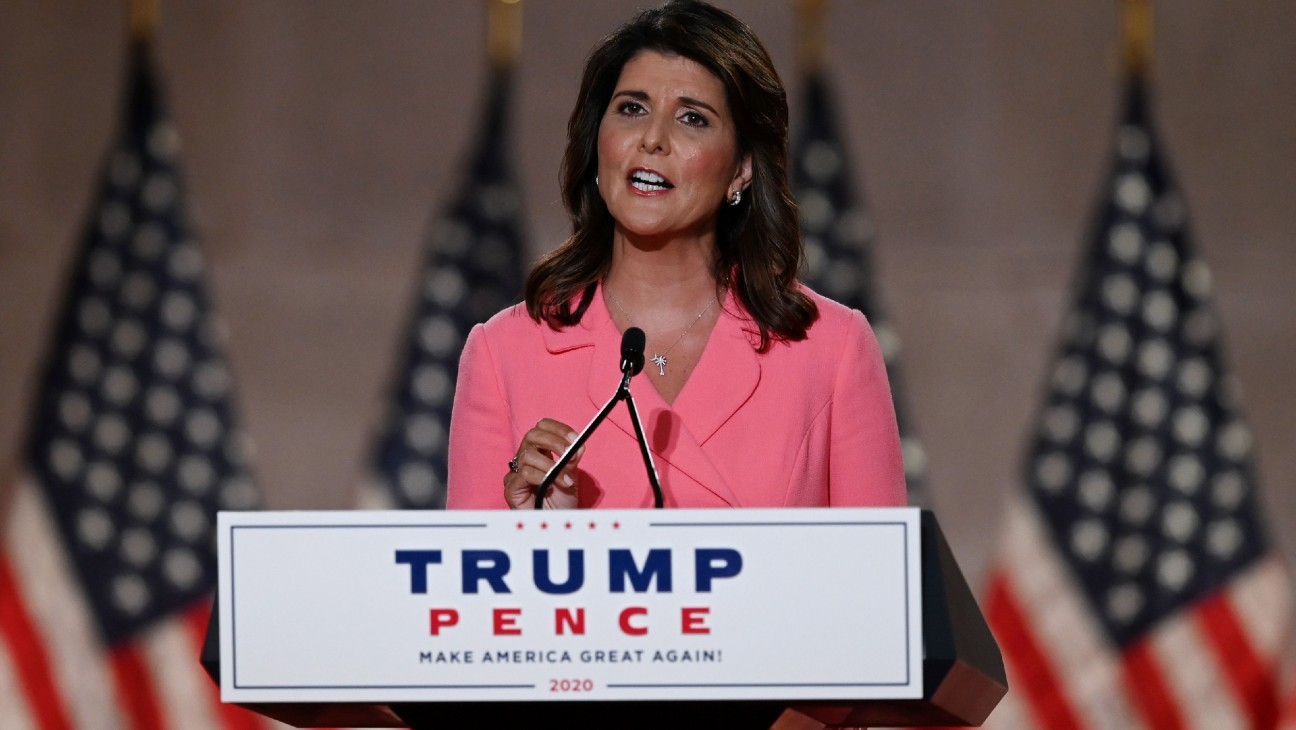 """Nikki Haley Argues """"America Is Not a Racist Country"""" at Republican Convention"""