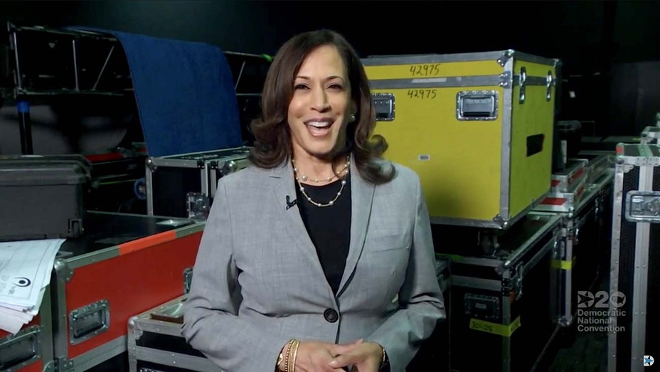 DNCC's livestream -2020 Democratic National Convention-Kamala Harris - August 19, 2020 - Getty - H 2020