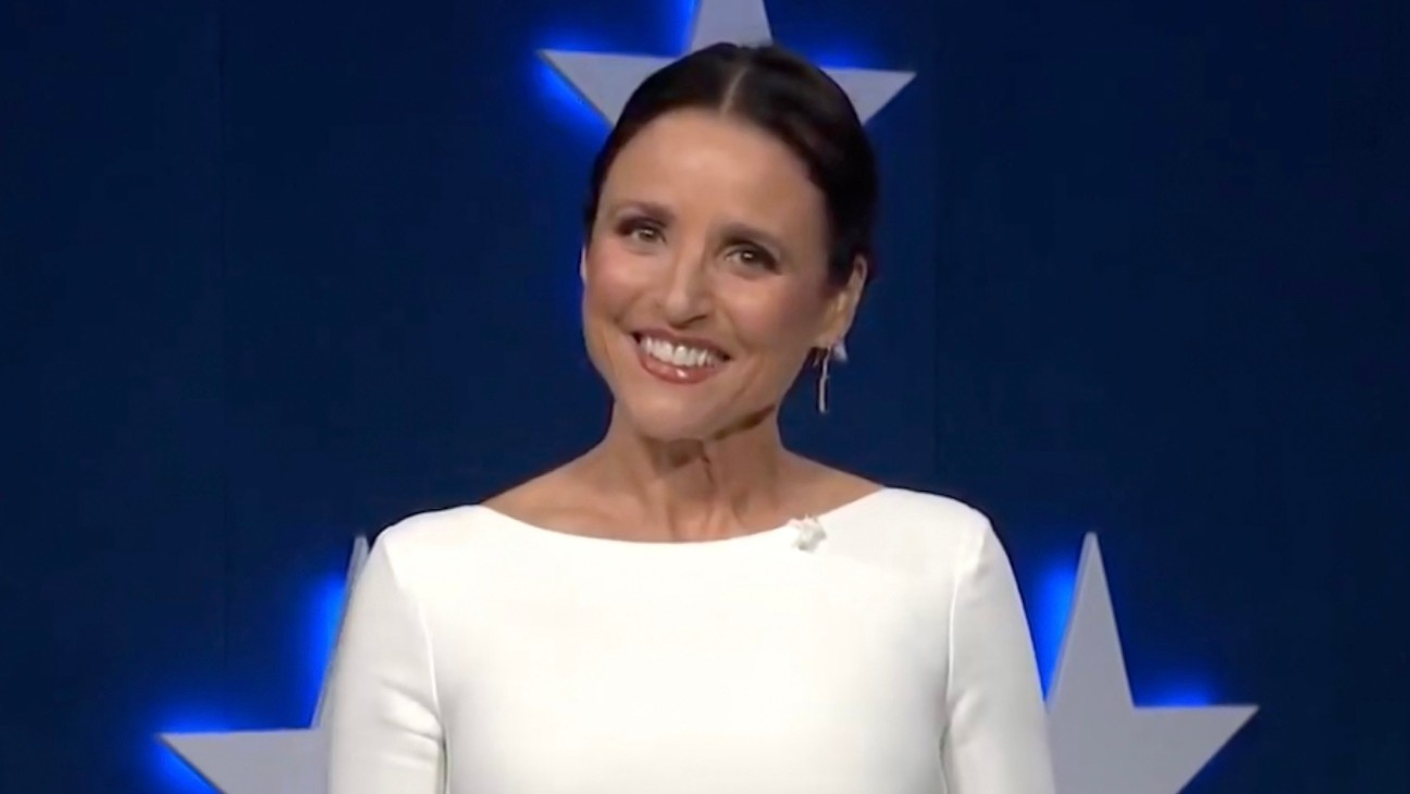 "Julia Louis-Dreyfus ""Proud to Be a Nasty, Nasty Woman"" for Dems"