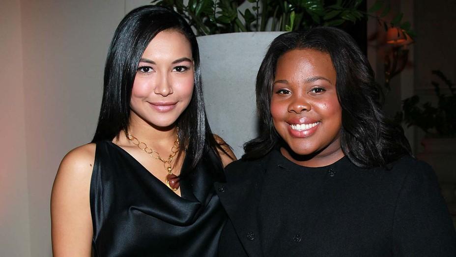 Naya Rivera and Amber Riley