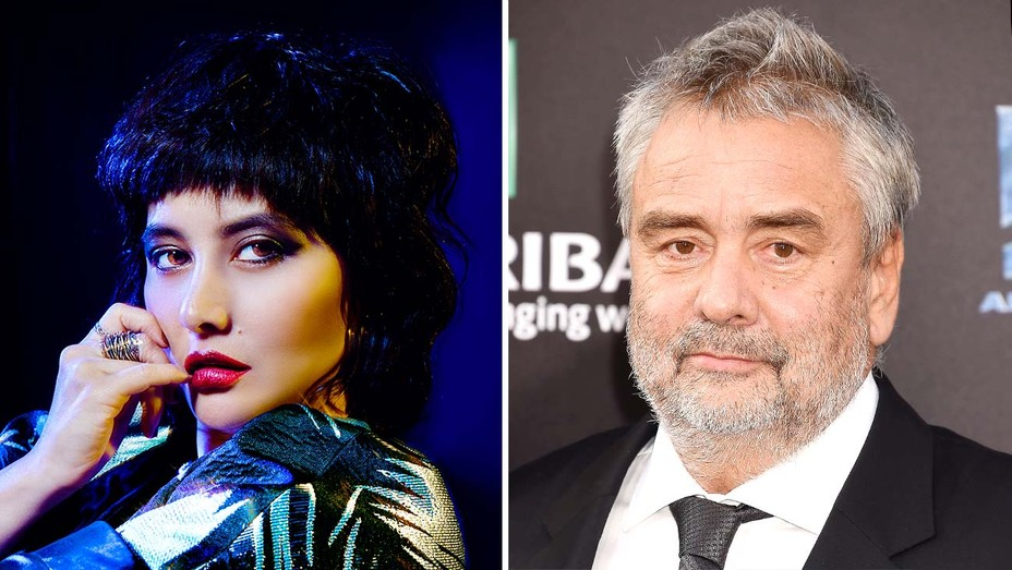 Josie Ho and Luc Besson