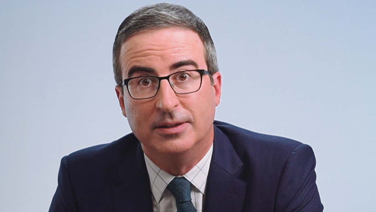 John Oliver's Last Show of 2020 Features Election Discussion, Adam Driver FaceTime Call and a Big Explosion
