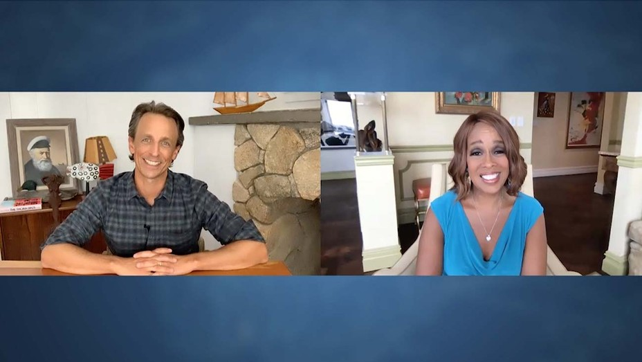 Late Night with Seth Meyers - Season 7 -Gayle King on August 19, 2020-H 2020
