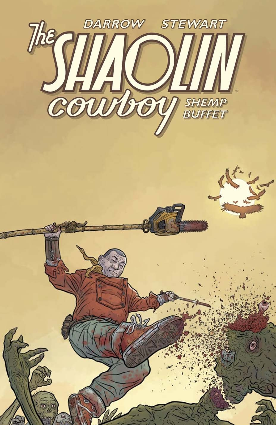 Shaolin Cowboy Taschenbuch - Werbung - EMBED 1 - 2020