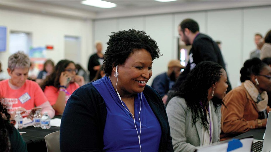 Stacey Abrams in 'All In.'