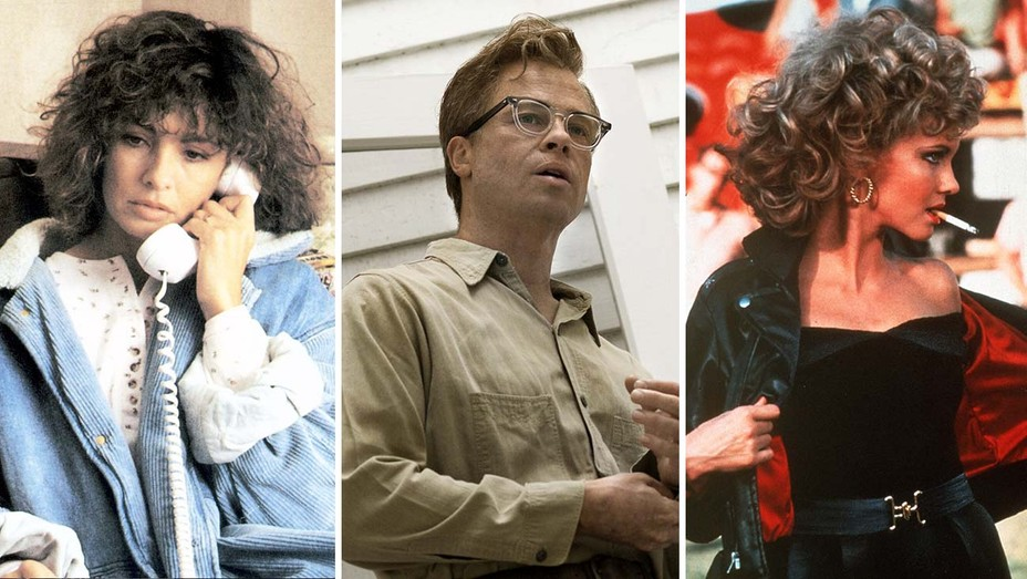 Fatal Attraction, The Curious Case of Benjamin Button and Grease - Photofest stills - Split - H 2020