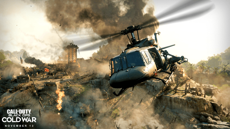 Call Of Duty Black Ops Cold War Footage Drops At Gamescom Hollywood Reporter