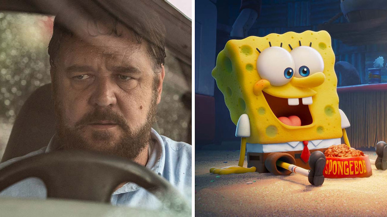 'Unhinged' and 'SpongeBob Movie' Mark Revival of North American Box Office
