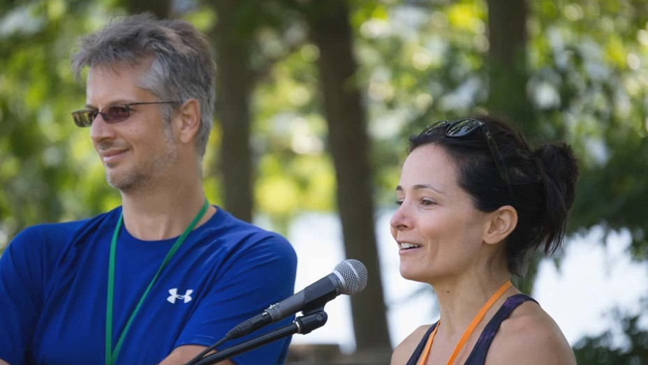 Mark Vicente and Sarah Edmondson