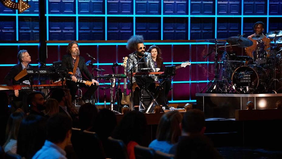 the Late Late Show band-THE LATE LATE SHOW WITH JAMES CORDEN